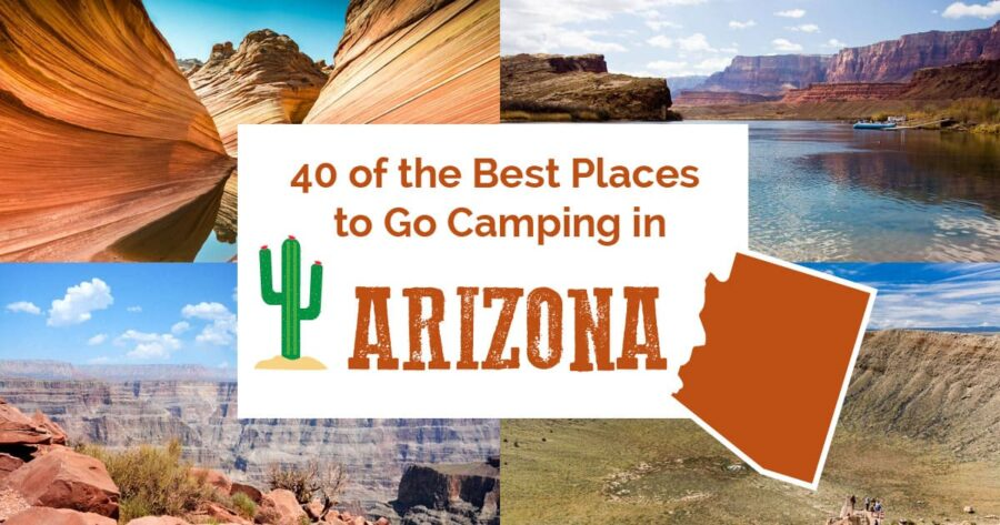 Cover image for best places to go camping in Arizona
