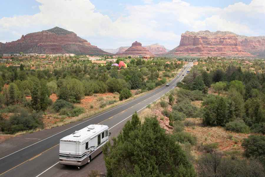 RV in Arizona