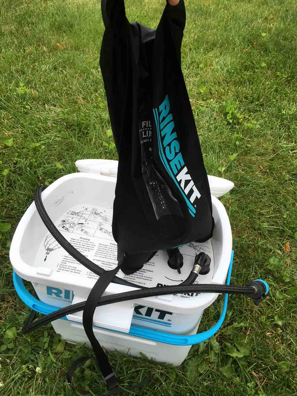 RinseKit - The Portable Shower You Need in Your Camping Arsenal 16