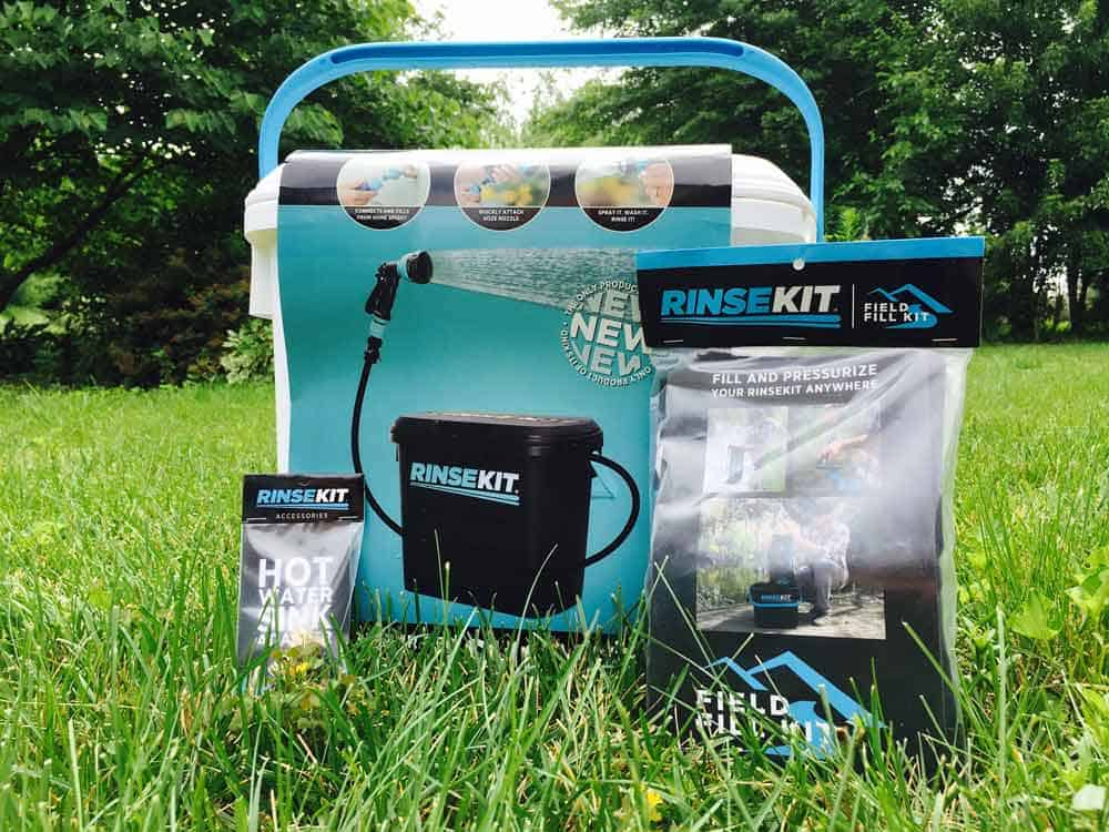 RinseKit - The Portable Shower You Need in Your Camping Arsenal 2