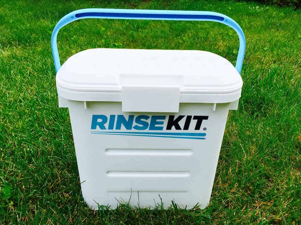 RinseKit - The Portable Shower You Need in Your Camping Arsenal 3
