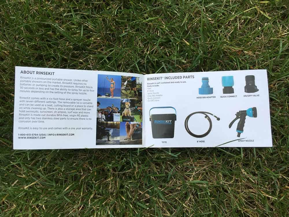 RinseKit - The Portable Shower You Need in Your Camping Arsenal 7