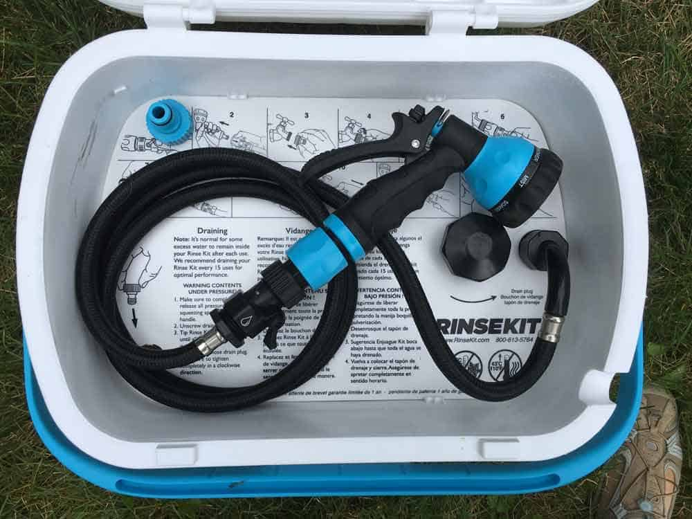 RinseKit - The Portable Shower You Need in Your Camping Arsenal 5