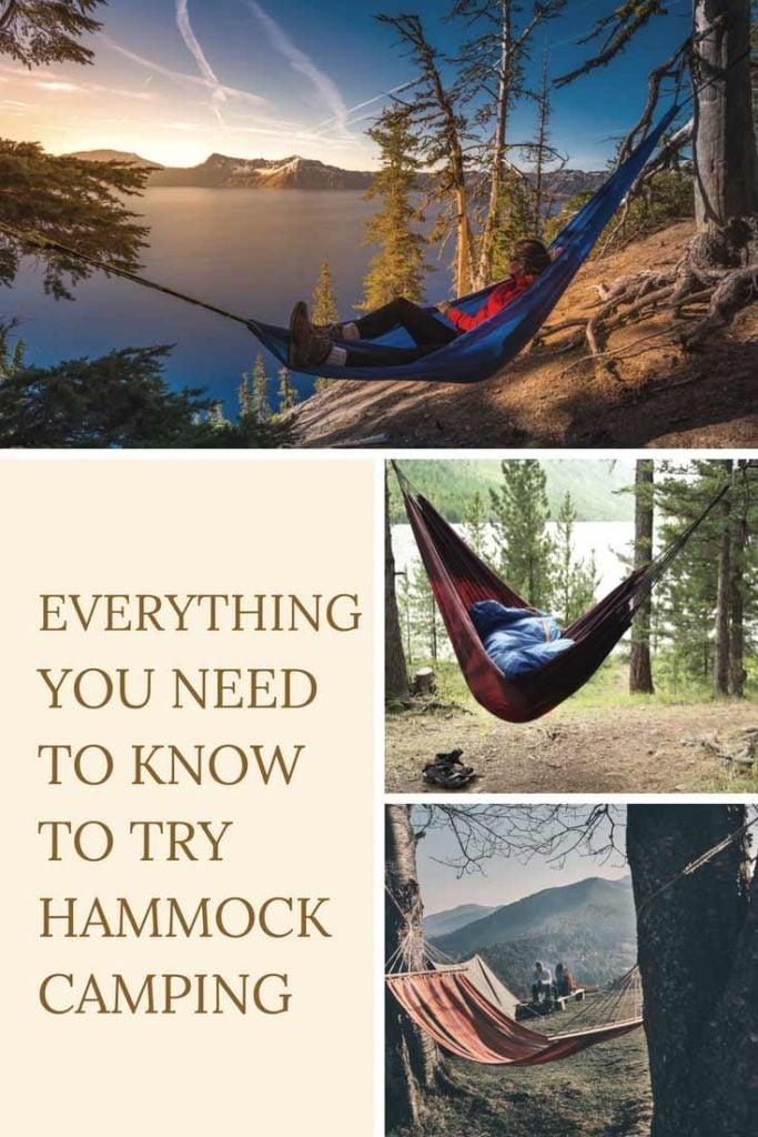 Start Hammock Camping