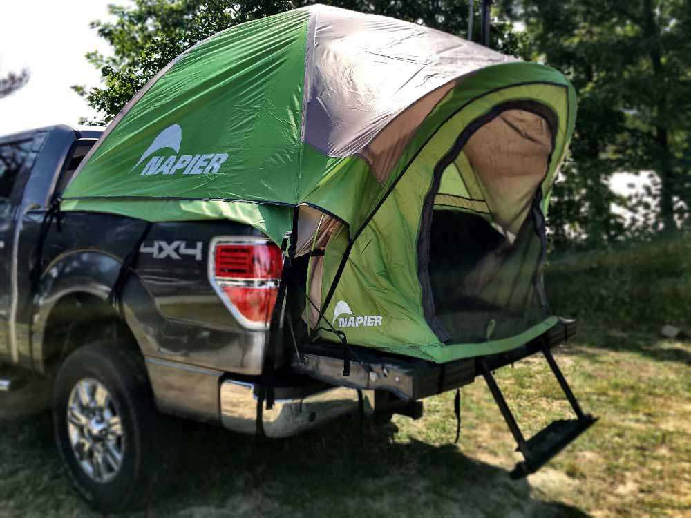 Enjoy the Freedom of a Camping Adventure with Napier's Truck Tent 2