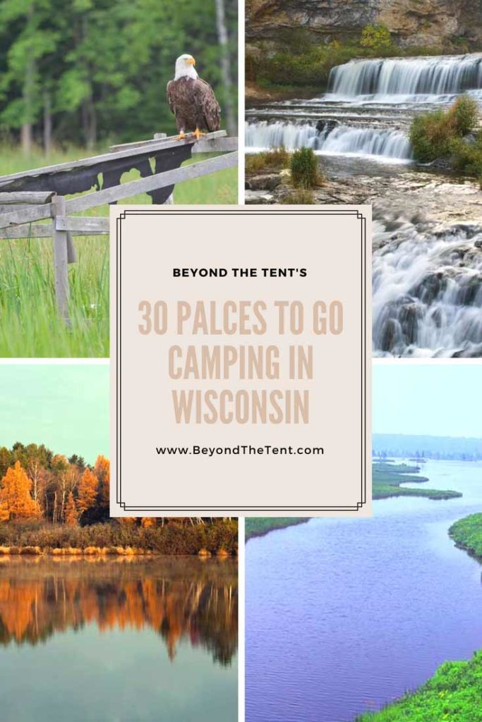 CAmping in Wisconsin Pinterest