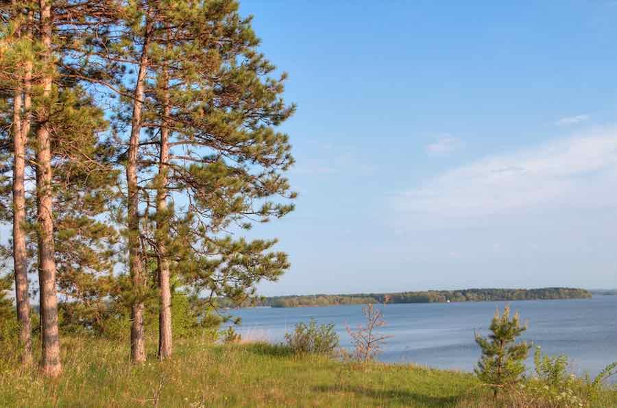 Lake Wissota State Park Camping