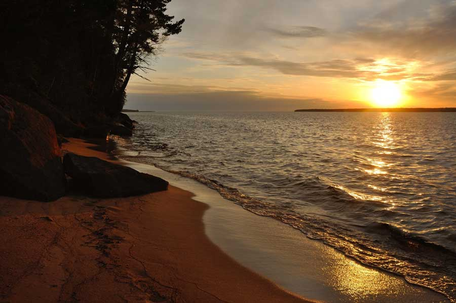 Apostle Island Camping Wisconsin