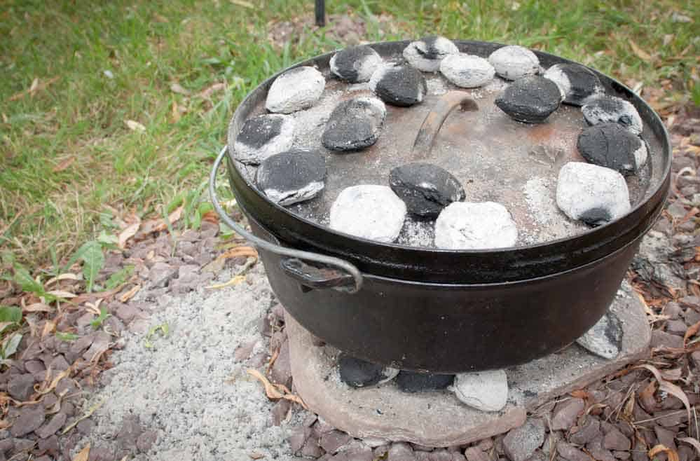 Cooking with a Cast Iron Dutch Oven