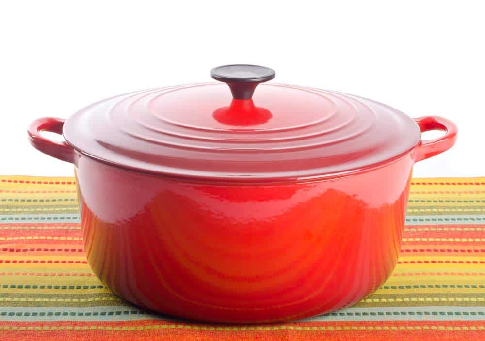 Red Kitchen Dutch Oven