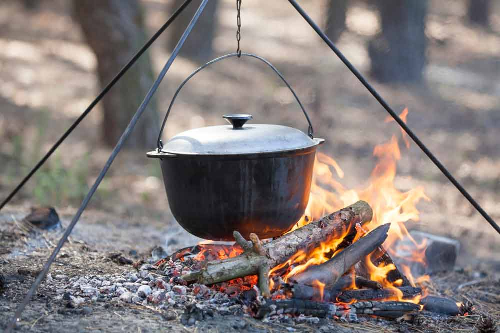 Astounding 35 Dutch Oven Camping Recipes That Will Take Your Cookout To Home Interior And Landscaping Ologienasavecom