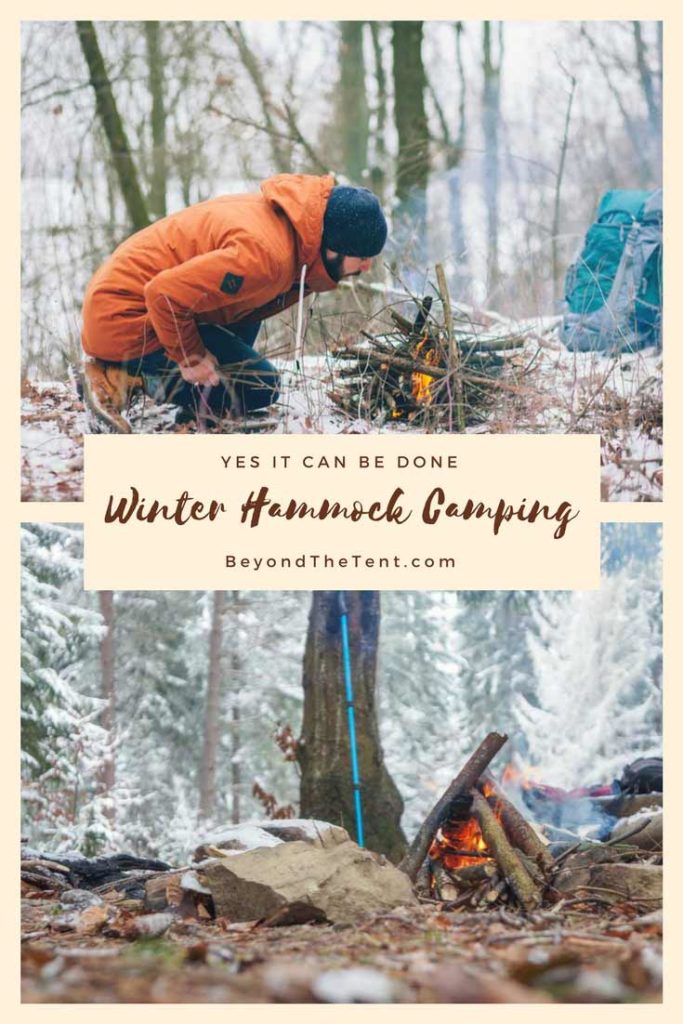 Winter Hammock Camping Pinterest
