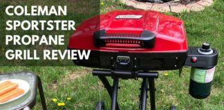 Coleman Sportster Propane Grill Review