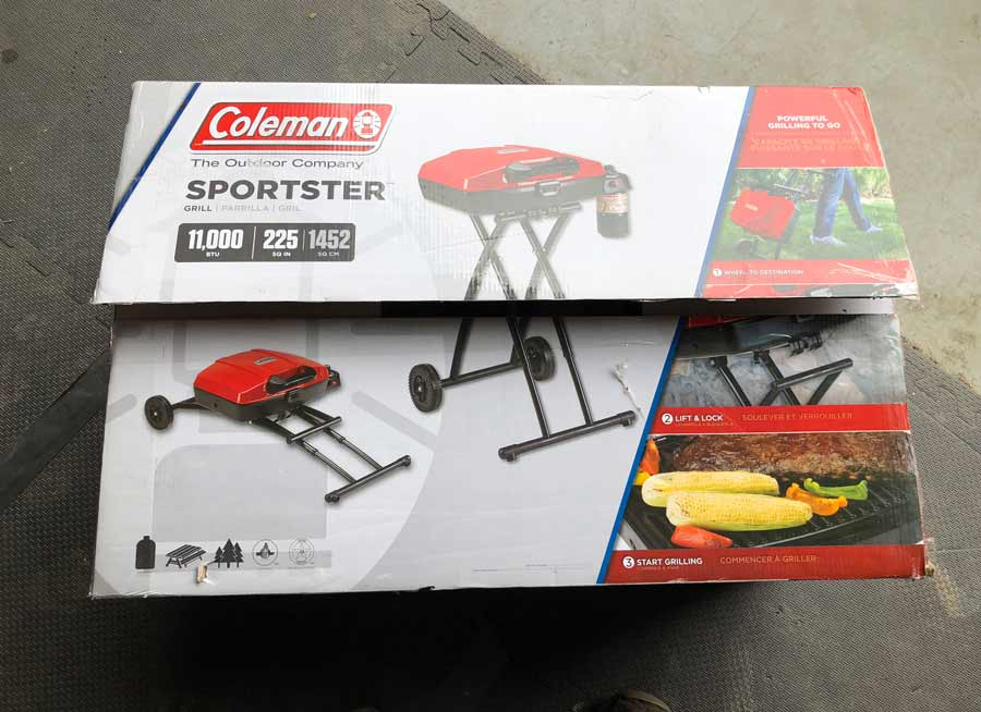 Coleman Sportster Grill in Box