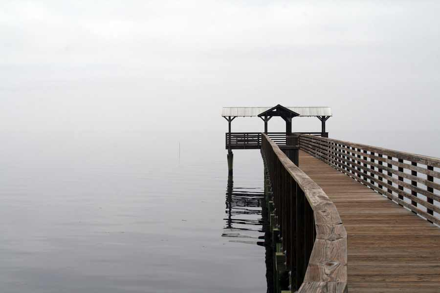 Dock on St Johns River Florida