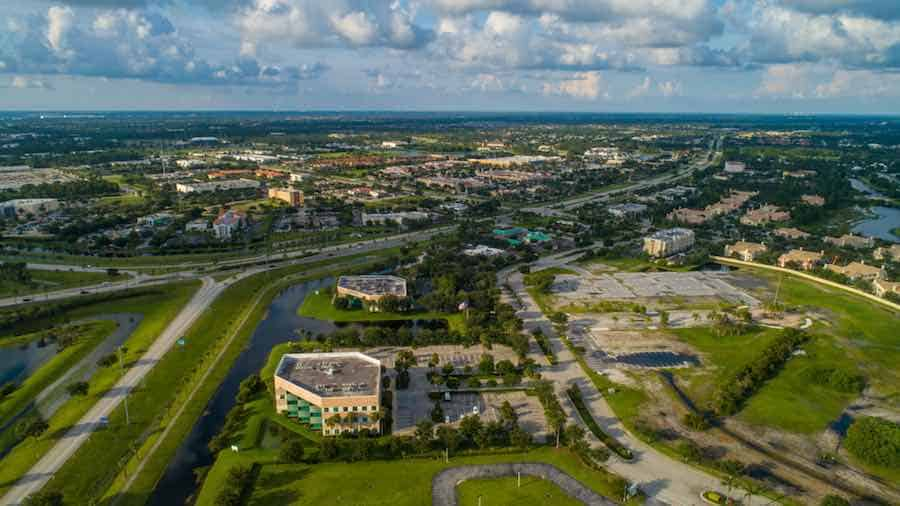 St. Lucie Florida Arial View