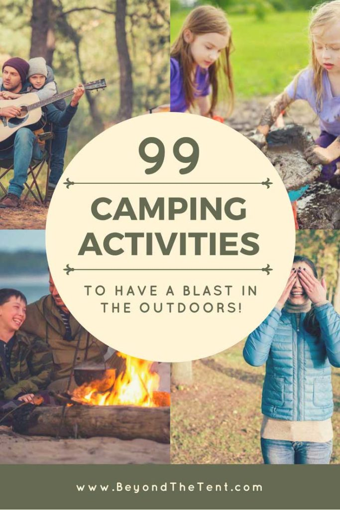 Camping Activities Pinterest Image