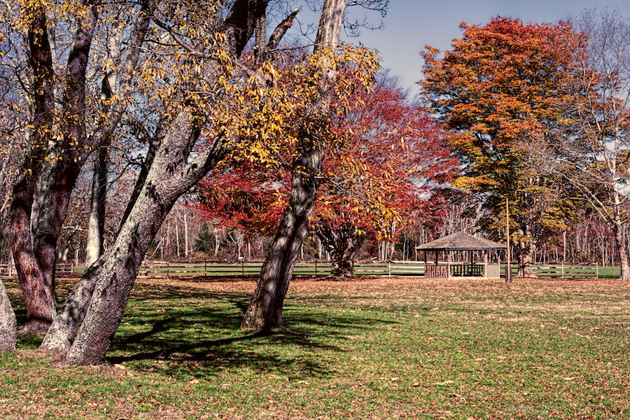 Allaire Village in the Fall