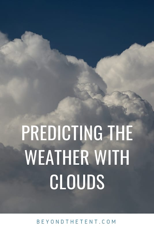 Predicting the Weather with Clouds 1
