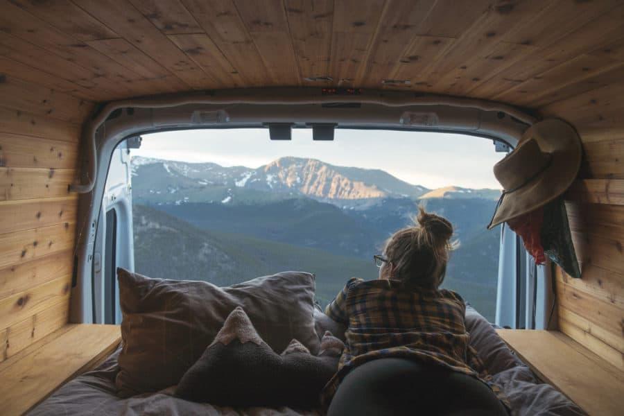Camper Van RV Rental in Seattle