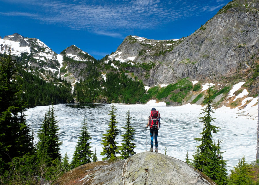 Hiking in North Cascades