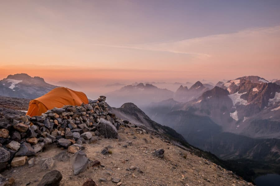 North Cascades Backcountry Camping