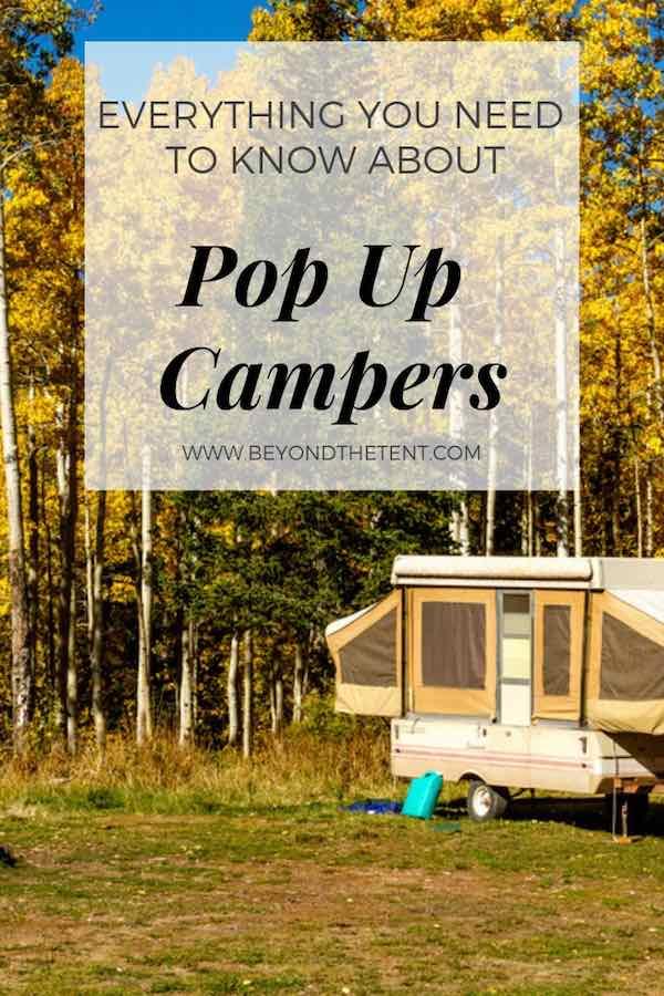 Pop Up Campers Pinterest