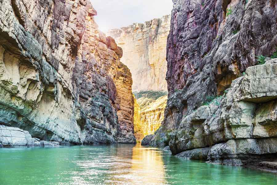 Rock Formations at Big Bend National Park in Texas