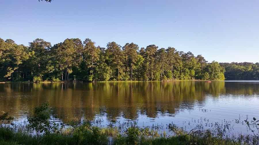 Camping in Huntsville state park, TX