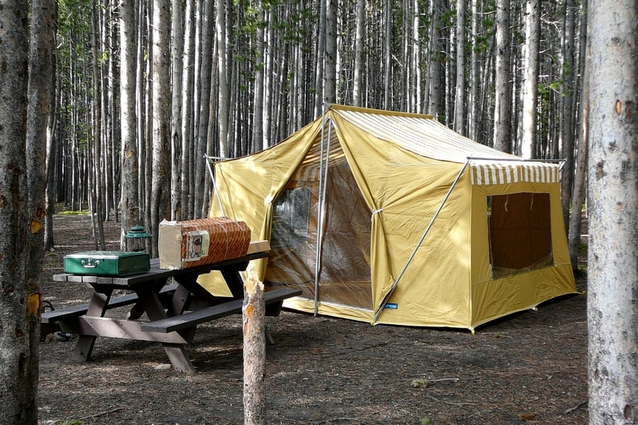 The Best Camping in Yellowstone National Park 5