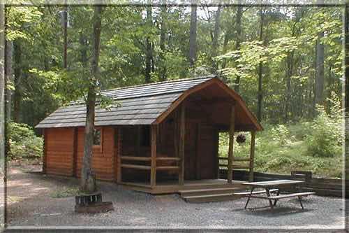 Charlottesville KOA Cabin