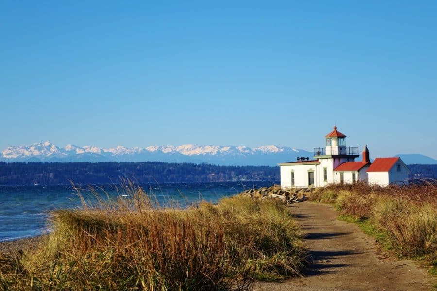Lighthouse Discovery Park Seattle