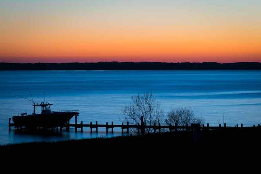 Sunset at Rappahannock River Virginia