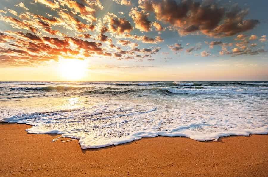 Virginia Beach Camping Sunset
