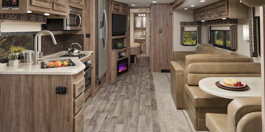 Large RV Kitchen