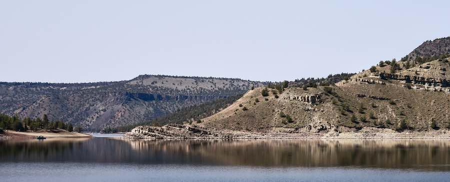 Prineville Reservoir, near Prineville, Oregon