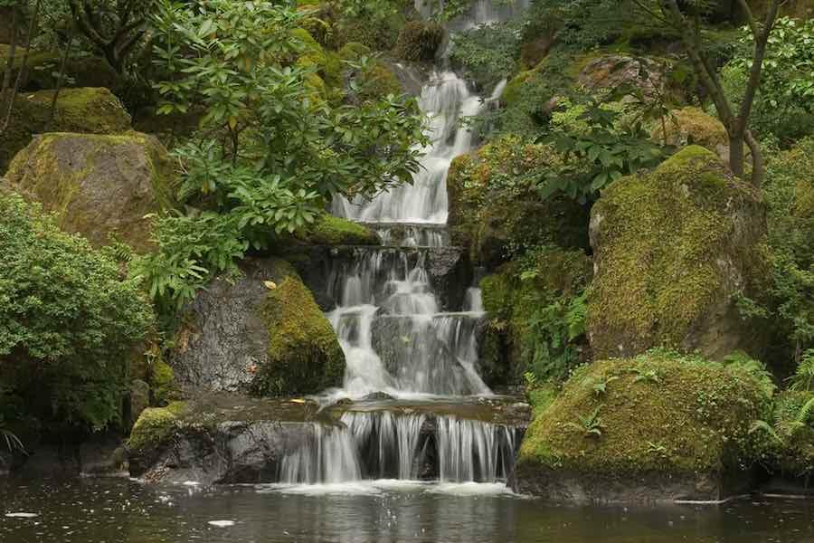 Beautiful waterfall in Oregon