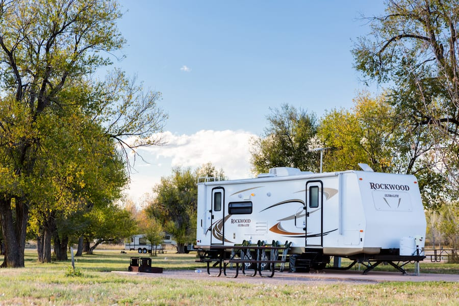 Renting a Travel Trailer RV
