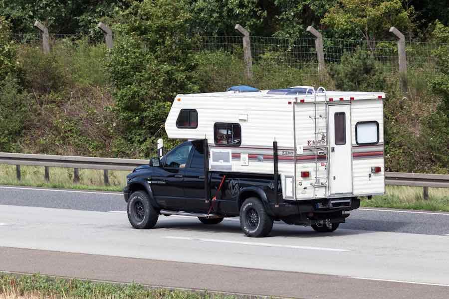 Buck A Truck Camper