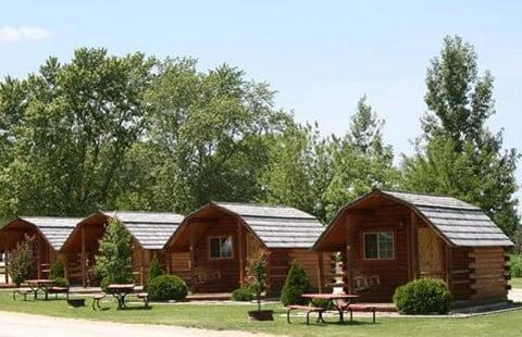 Cabin Camping at KOA