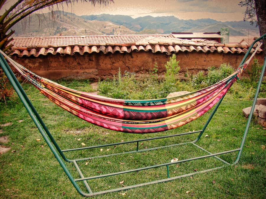 How to Hang a Hammock for Camping or Indoors 1