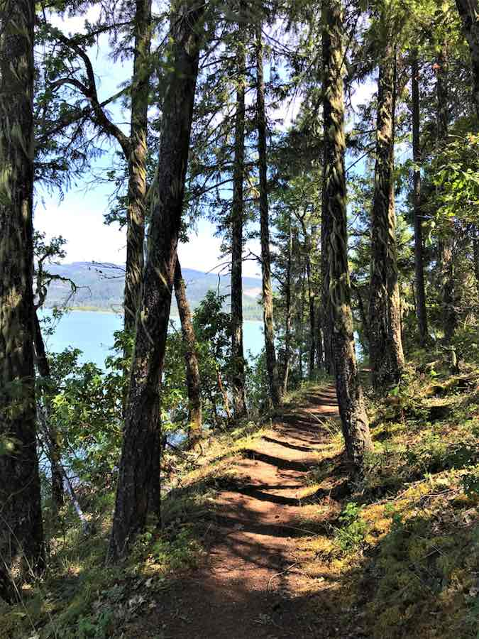 Hiking Trail at Lost Creek Lake