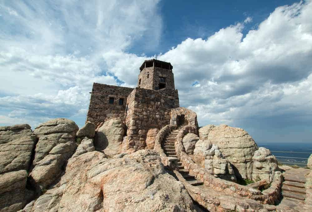 Black Elk Peak - Lookout Tower - South Dakota