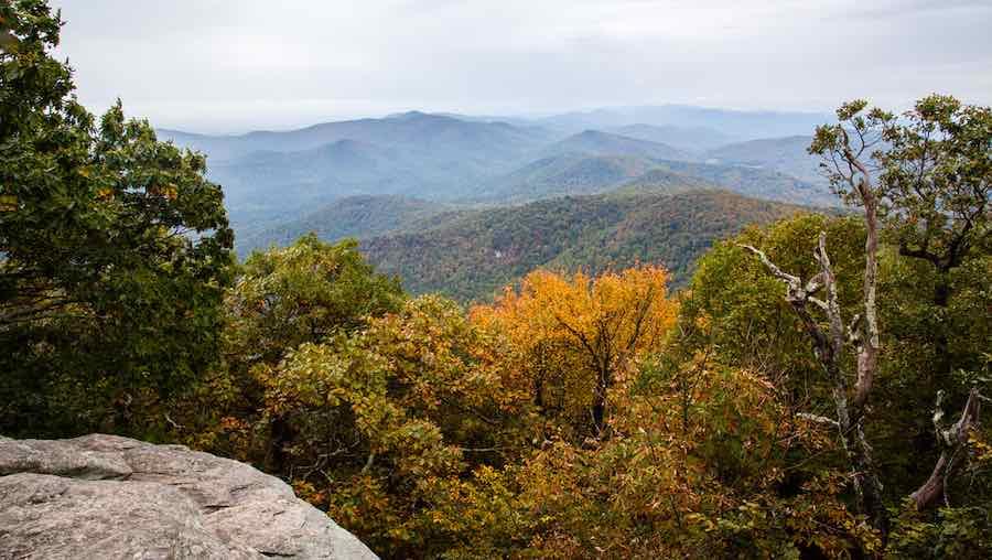 Camping in Georgia - Blood Mountain