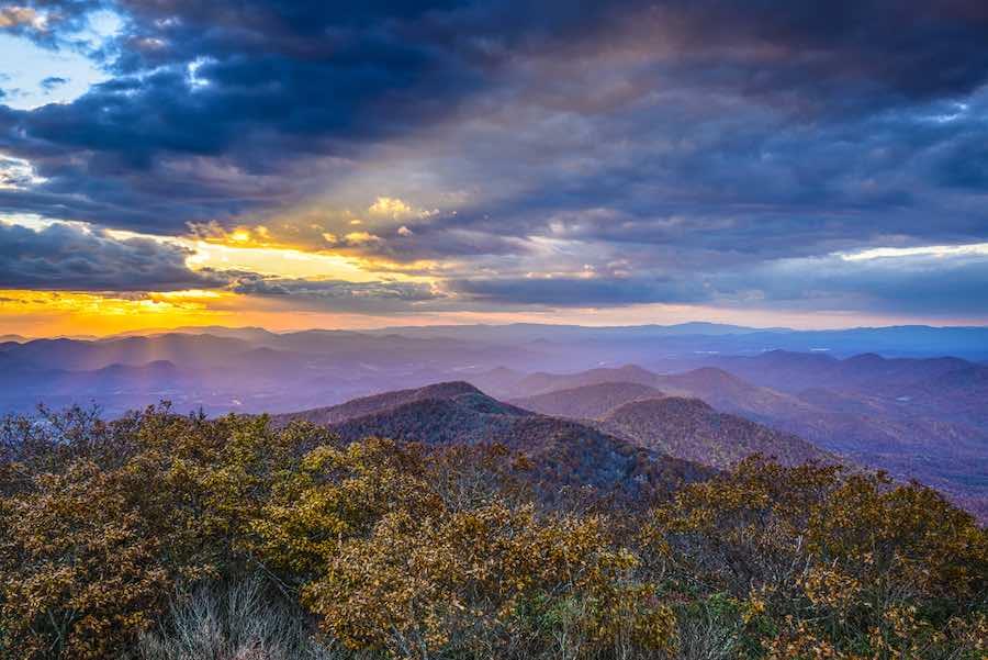 Camping in Georgia: Blue Ridge Mountains in North Georgia