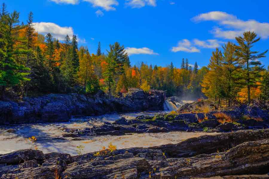 Fall Color at Jay Cooke State Park