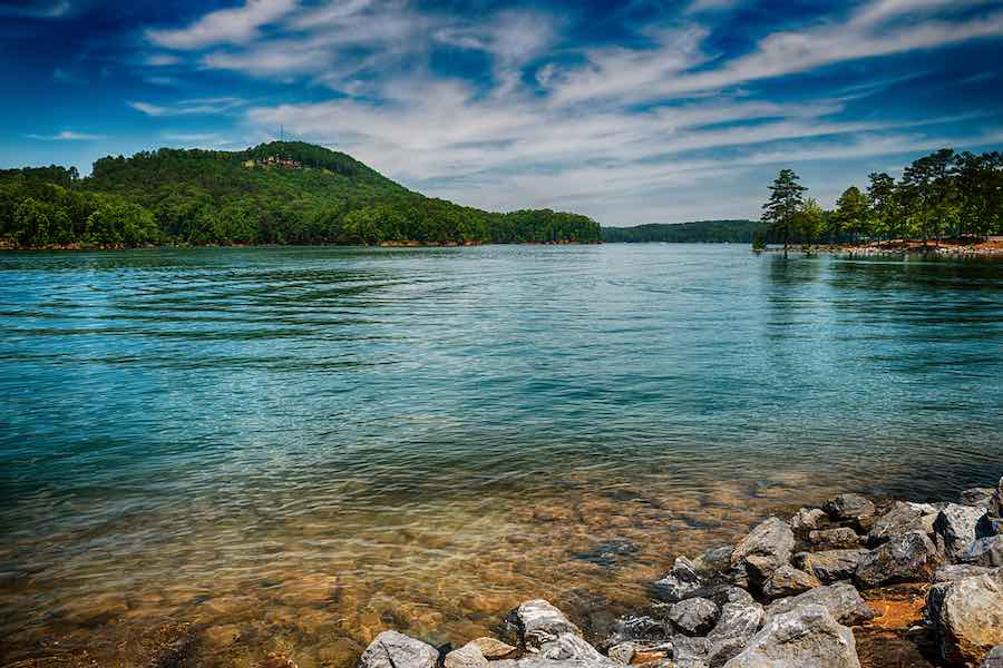 Georgia Campgrounds: Lake Allatoona at Red Top Mountain State Park north of Atlanta