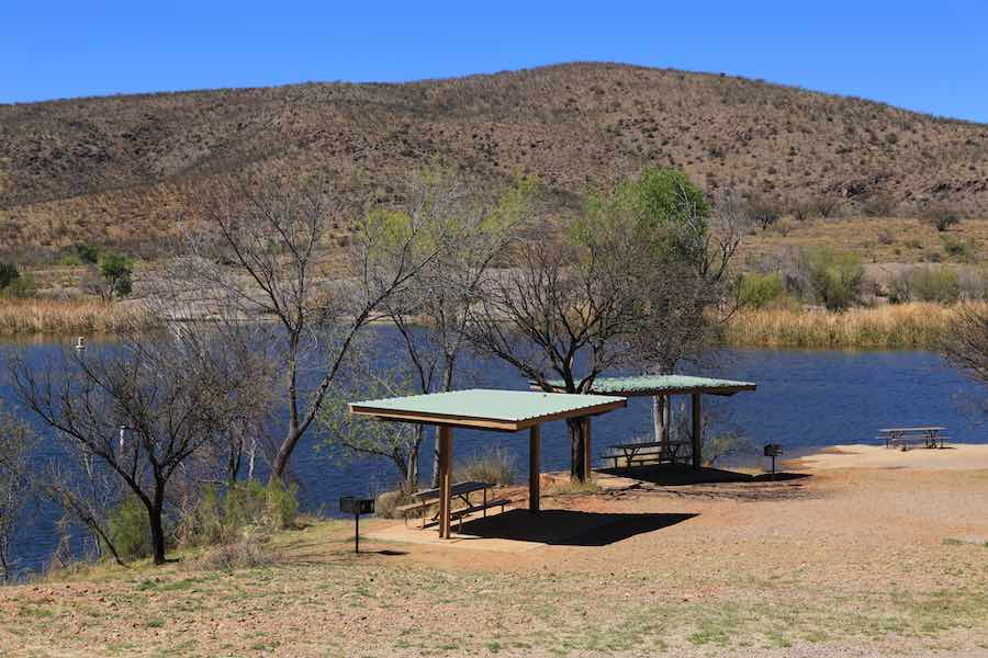 Picnic Area at Patagonia Lake State Park