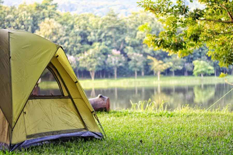 Tent camping in Ohio