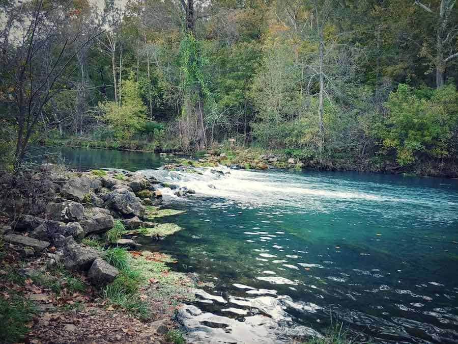 Niangua River at Bennett Springs State Park